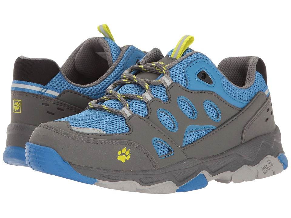 Jack Wolfskin Kids - Mountain Attack 2 (Toddler/Little Kid/Big Kid) (Wave Blue) Boy's Shoes