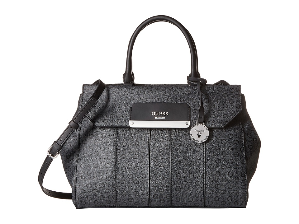 GUESS - Hop Carryall (Coal) Handbags