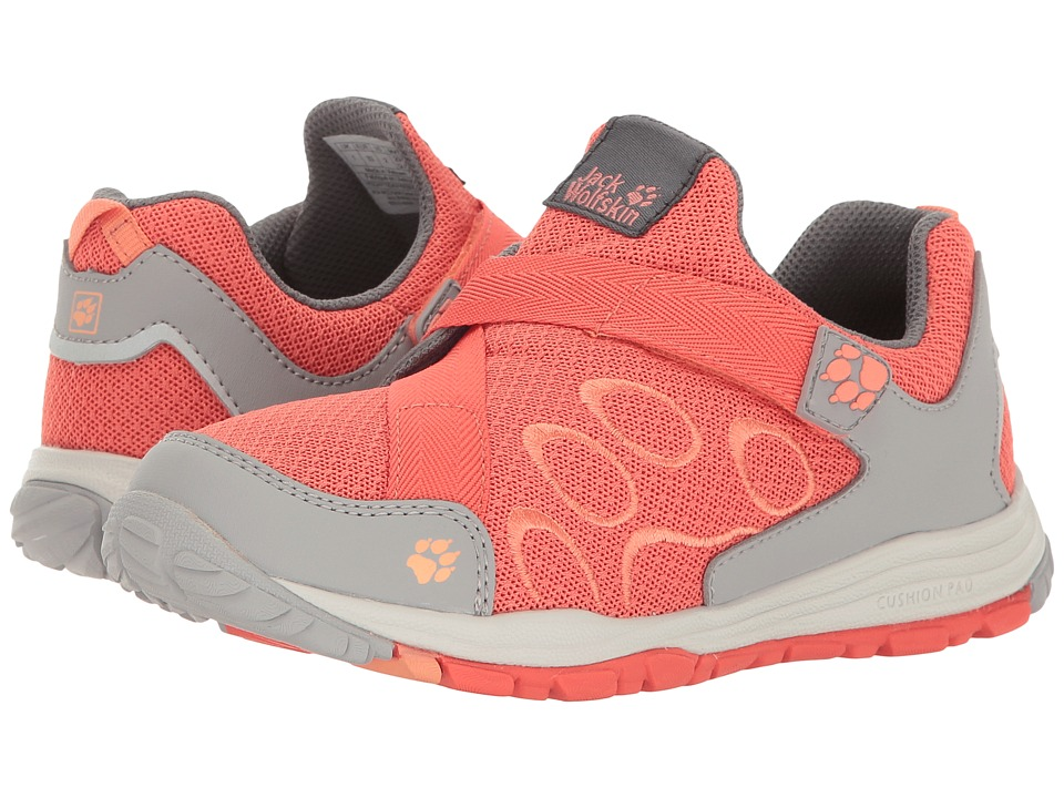 Jack Wolfskin Kids - Monterey Ride VC Low (Toddler/Little Kid/Big Kid) (Hot Coral) Girls Shoes