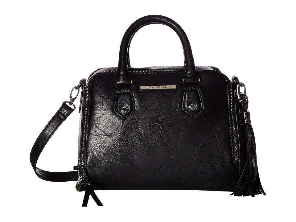 Steve Madden - BKiki Satchel (Black/Olive/Black) Satchel Handbags