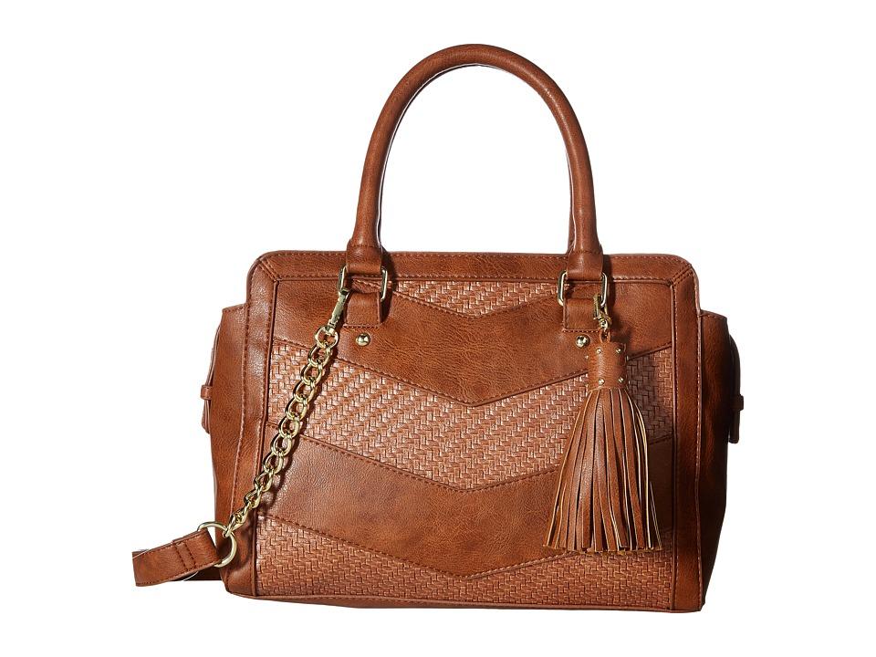 Steve Madden - Bwaverly Satchel (Cognac) Satchel Handbags