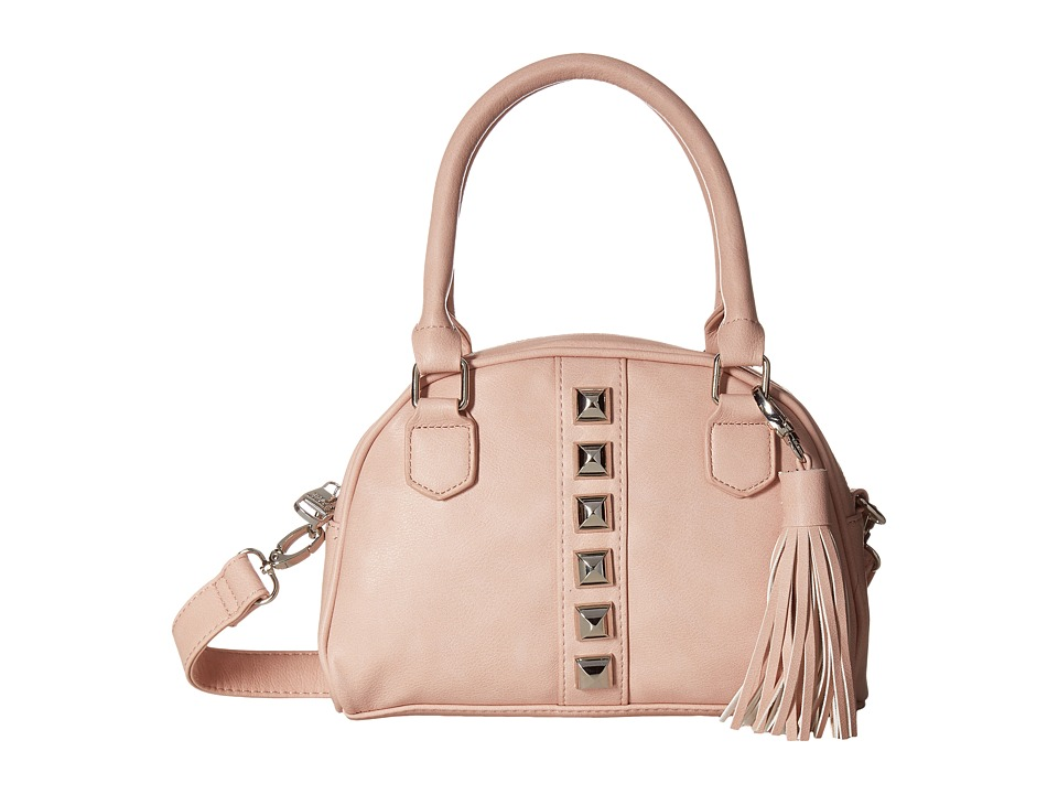 Steve Madden - Mini BGloria Studs Mini Satchel (Blush) Satchel Handbags