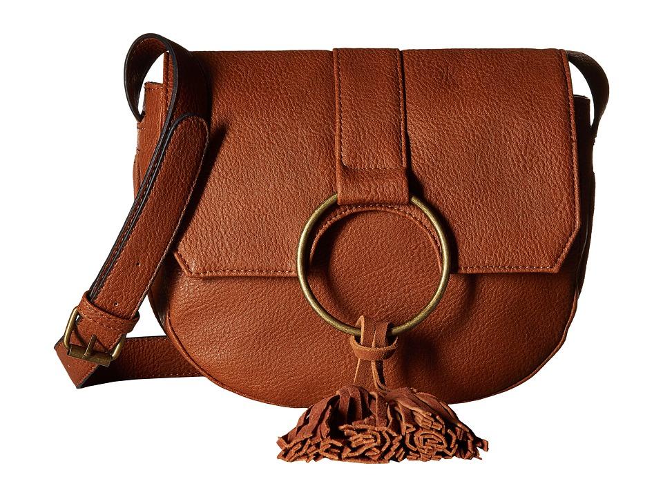Steve Madden - BLangston Crossbody (Cognac) Cross Body Handbags