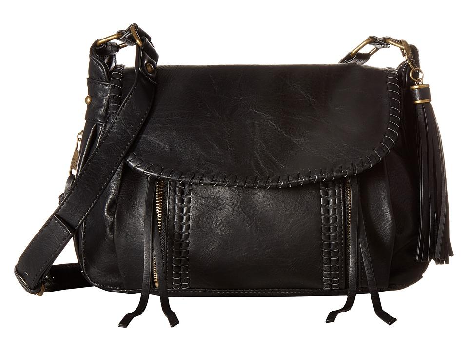 Steve Madden - BDee Crossbody (Distressed Black) Cross Body Handbags
