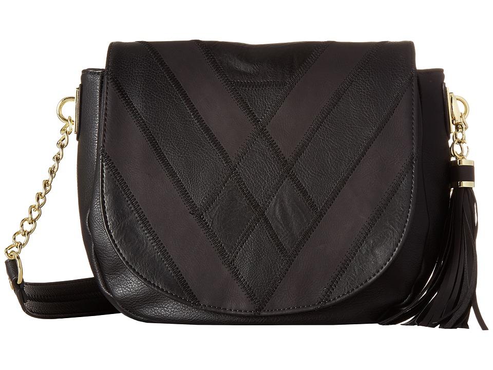 Steve Madden - Blauren (Black/Black) Handbags