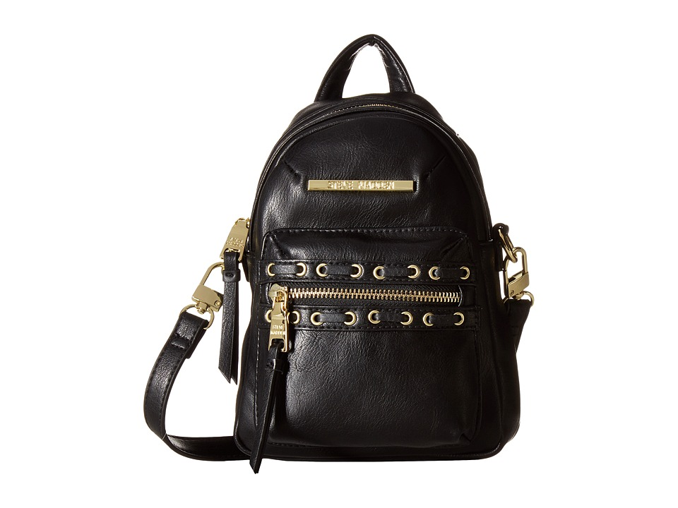 Steve Madden - BRosita Mini Backpack/Crossbody (Black) Backpack Bags