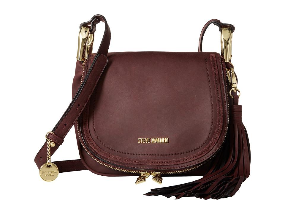 Steve Madden - BWilla Mini Crossbody (Wine) Cross Body Handbags