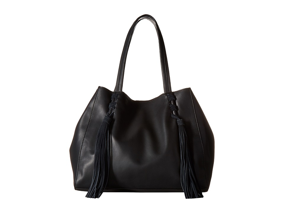 Steve Madden - BMellow Tote (Smooth/Suede Black) Tote Handbags