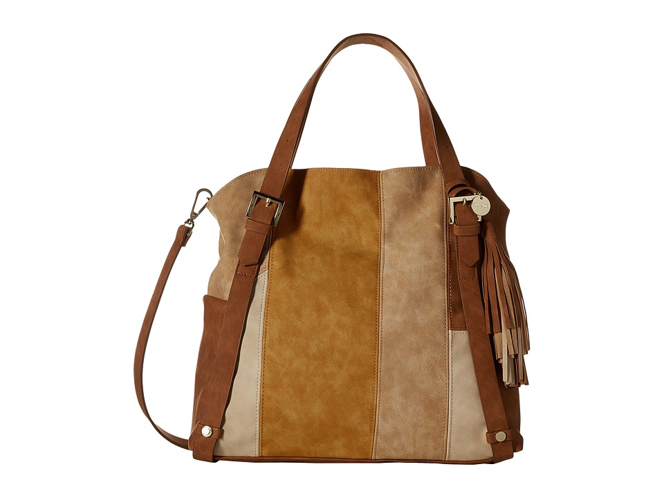 Steve Madden - BRheaa Slouchy Shopper (Cognac/Multi) Handbags