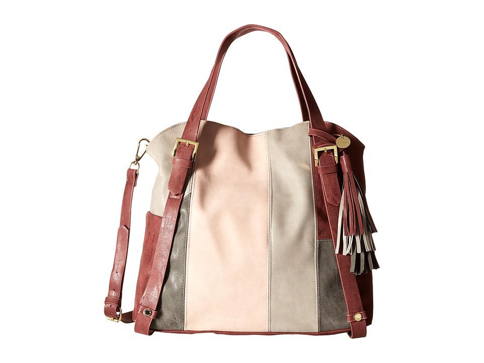 Steve Madden - BRheaa Slouchy Shopper (Wine/Multi) Handbags