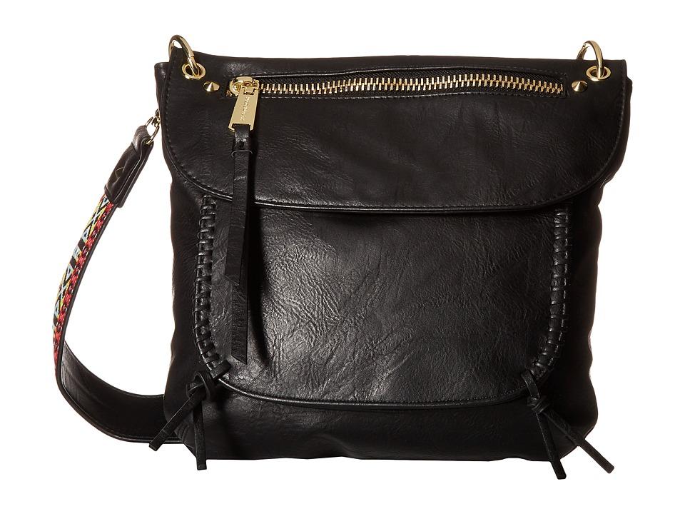 Steve Madden - BChange Crossbody (Distressed Black) Cross Body Handbags