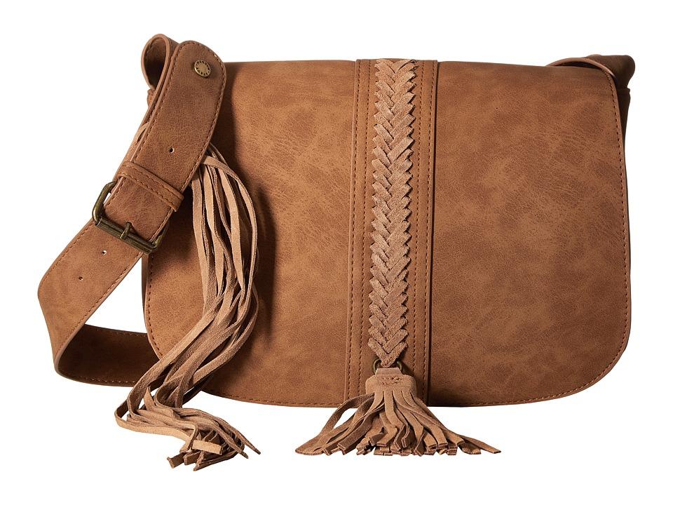 Steve Madden - BHazel Saddle Bag (Tobacco) Handbags