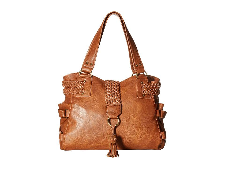 Steve Madden - BSamba Tote (Cognac) Tote Handbags