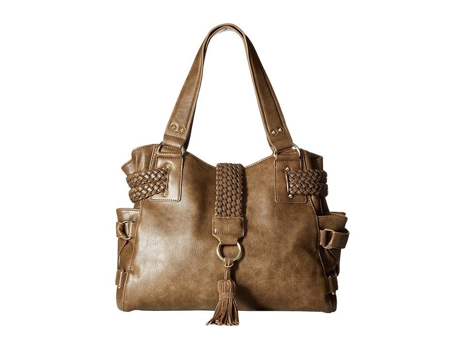 Steve Madden - BSamba Tote (Olive) Tote Handbags