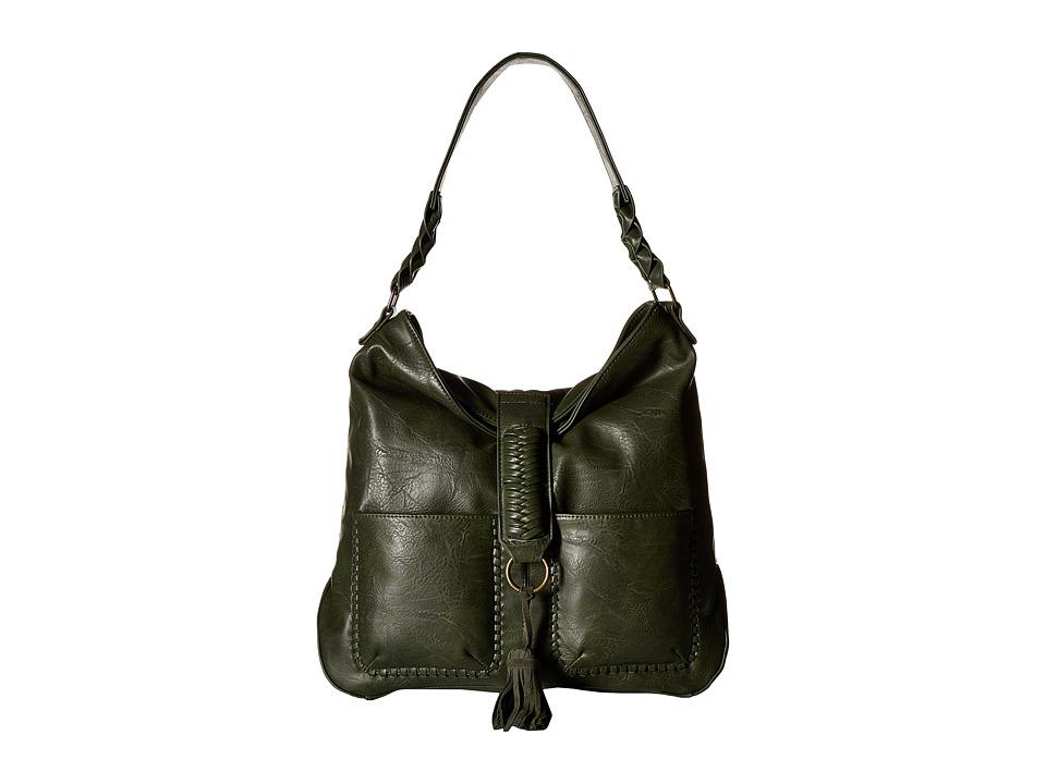 Steve Madden - BTullah Hobo (Olive) Hobo Handbags
