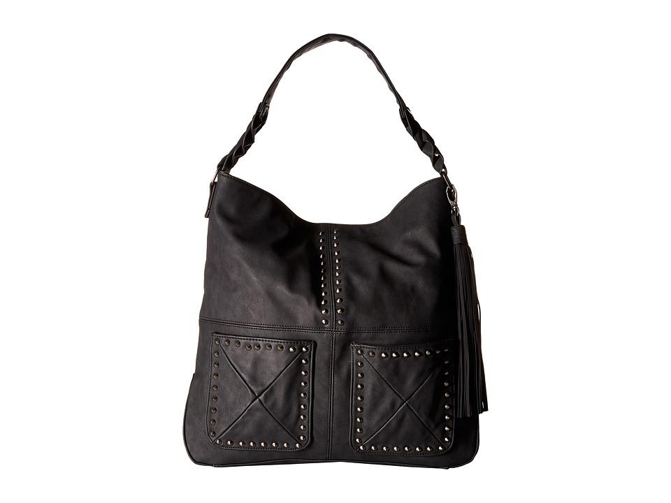 Steve Madden - BFranny Hobo (Black) Hobo Handbags