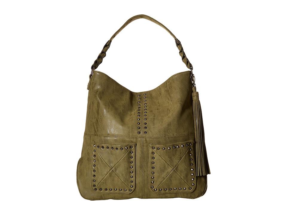 Steve Madden - BFranny Hobo (Olive) Hobo Handbags