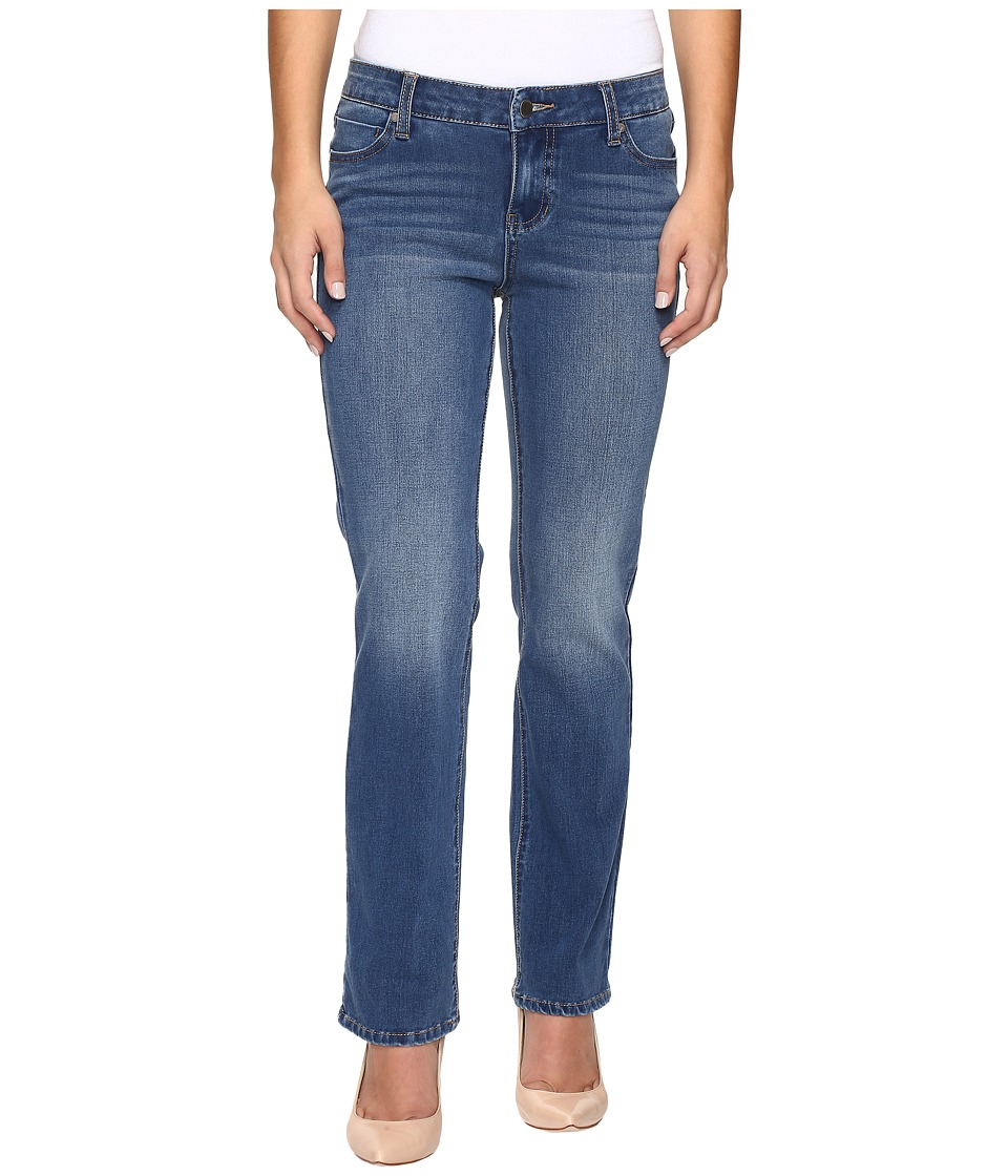 Liverpool - Petite Sadie Straight Jeans in Carolina Light/Indigo (Carolina Light/Indigo) Women's Jeans