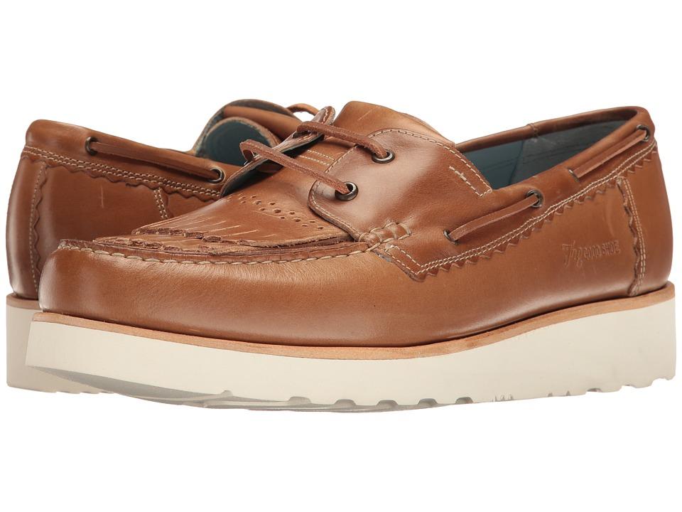 Grenson - Stevie Moccasin (Natural Pull Up) Men's Moccasin Shoes