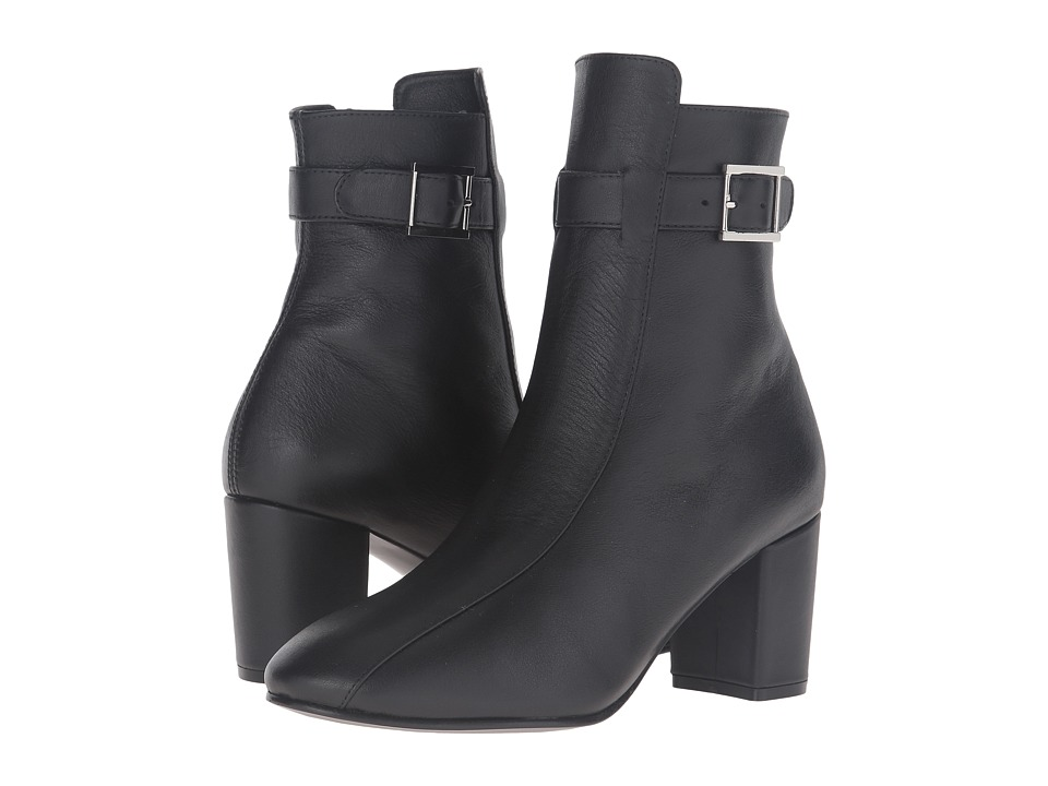 NewbarK - Sabrina Boot (Black Calf) Women's Shoes