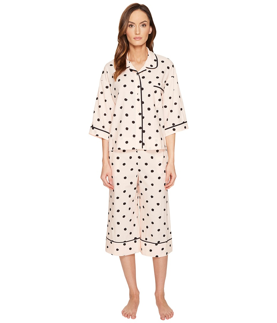 Kate Spade New York - Spot Capri PJ Set (Spot) Women's Pajama Sets