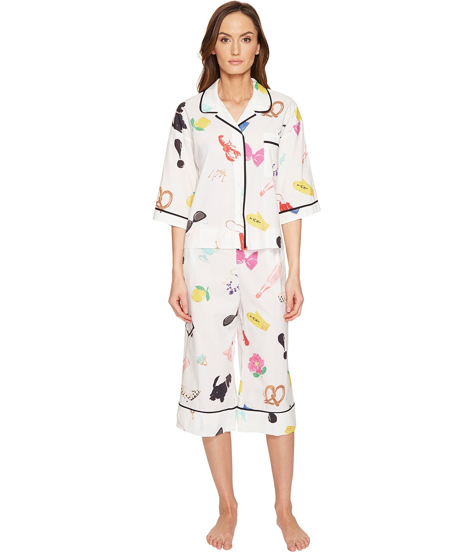 Kate Spade New York - Things We Love Capris PJ Set (Things We Love) Women's Pajama Sets