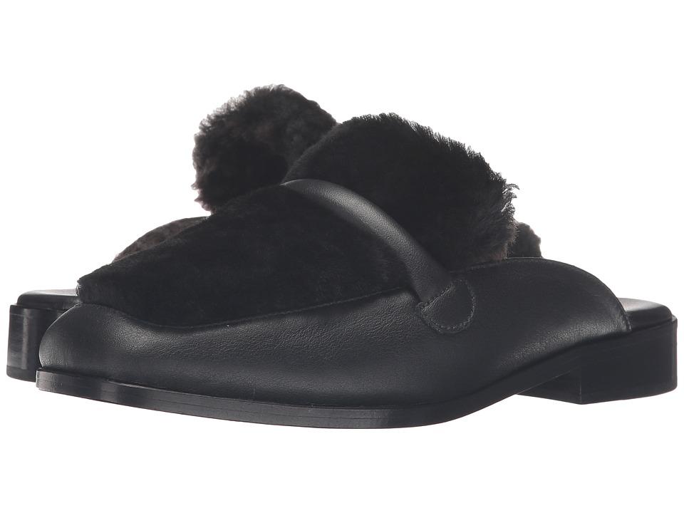 NewbarK - Melanie Mule Shearling (Black Shearling/Tobaccao Shearling) Women's Shoes