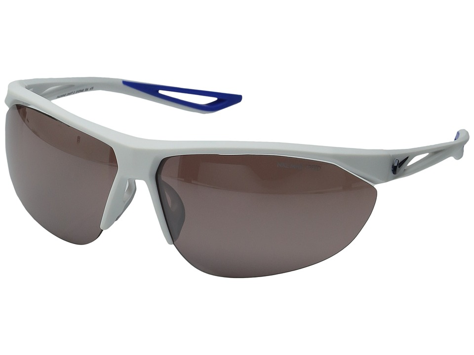 Nike - Tailwind Swift (Matte White/Obsidian/Speed Tint Lens) Athletic Performance Sport Sunglasses