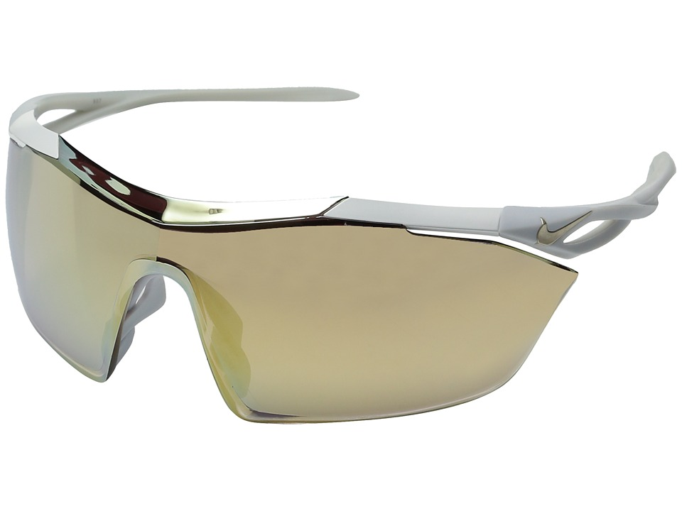 Nike - Vaporwing Elite (Matte White) Athletic Performance Sport Sunglasses