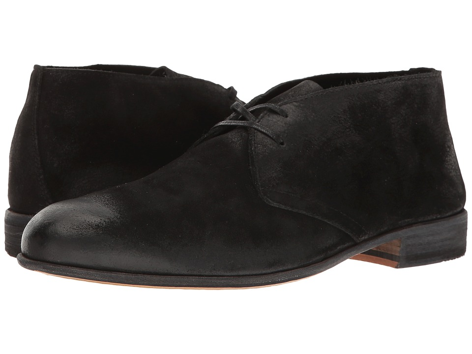 Billy Reid - Indianola (Black) Men's Lace-up Boots