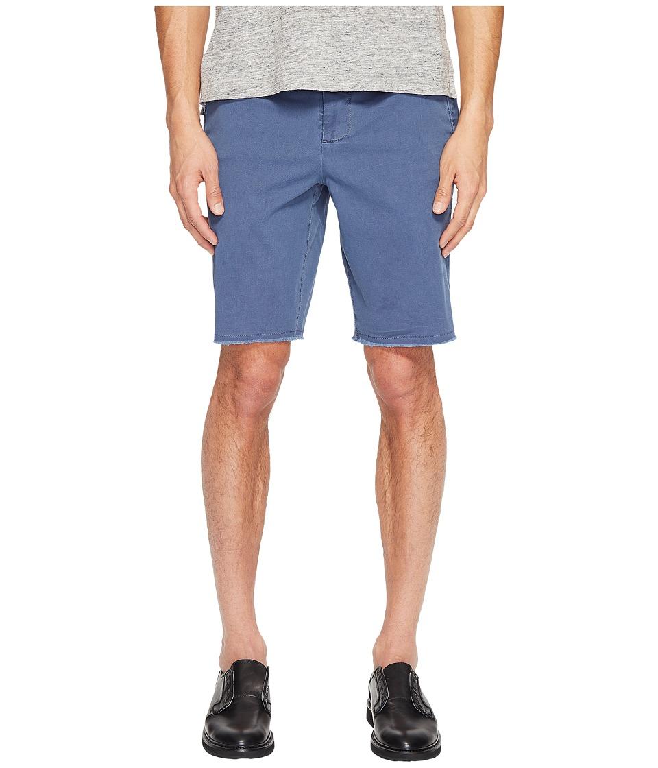 ATM Anthony Thomas Melillo - Sun Bleached Twill Shorts (Cadet) Men's Shorts