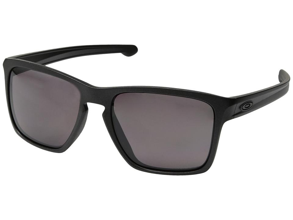 Oakley - (A) Sliver XL (Steel/Prizm Daily Polarized) Fashion Sunglasses