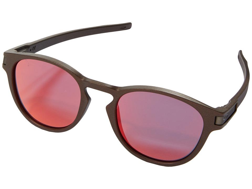 Oakley - Latch (Corten/Torch Iridium) Fashion Sunglasses