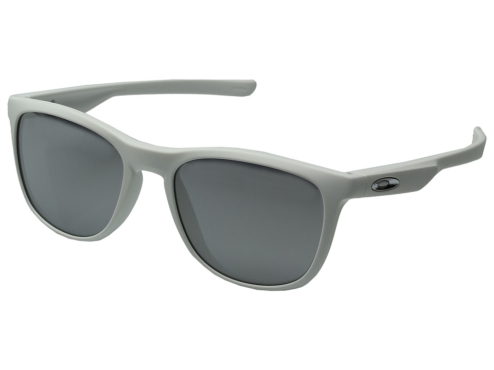 Oakley - Trillbe X (Matte White/Chrome Iridium) Fashion Sunglasses