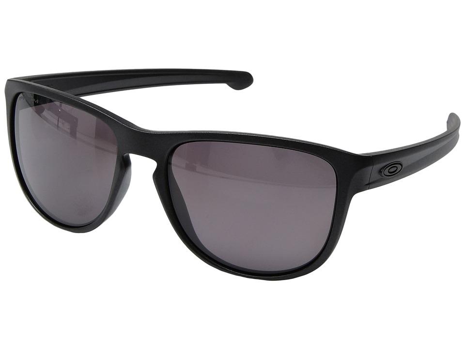 Oakley - Sliver R (Steel/Prizm Daily Polarized) Fashion Sunglasses