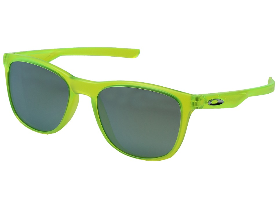 Oakley - Trillbe X (Matte Uranium/Emerald Iridium) Fashion Sunglasses