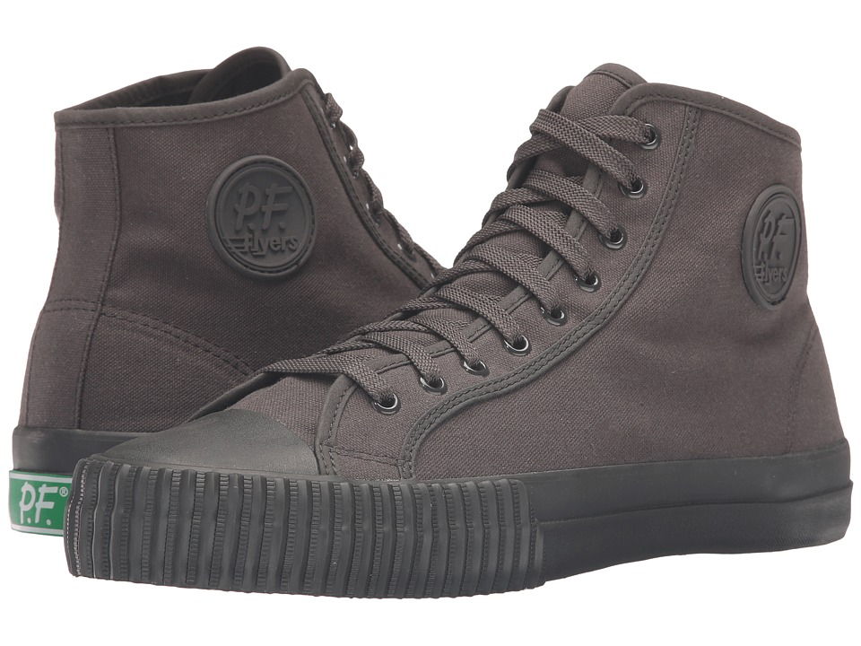 PF Flyers - Seasonal Center Hi (Raven) Men's Shoes
