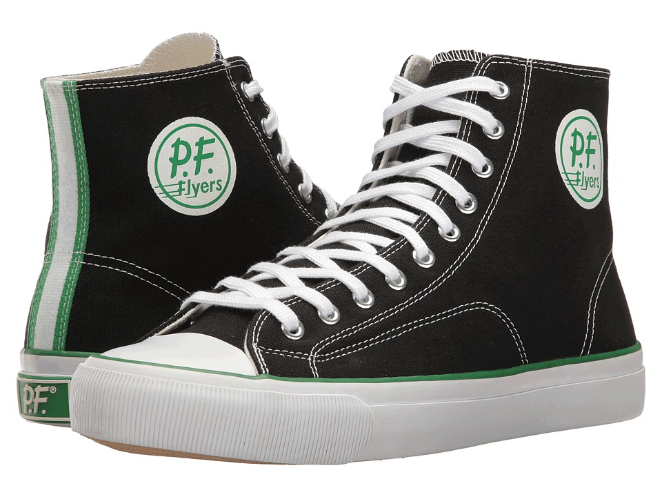 PF Flyers - All-American Center Hi (Black) Men's Shoes