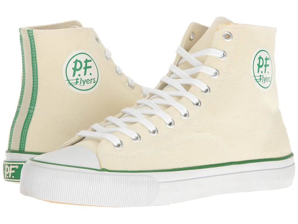 PF Flyers - All-American Center Hi (Natural) Men's Shoes