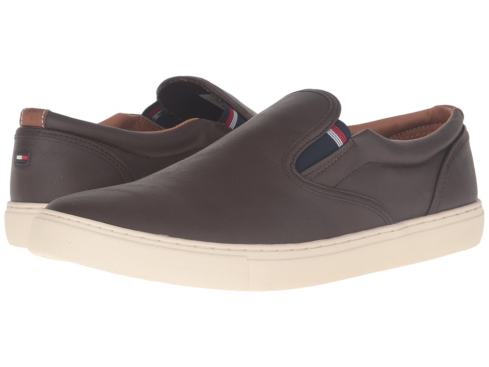 Tommy Hilfiger - Mustang 2 (Brown) Men's Slip on Shoes