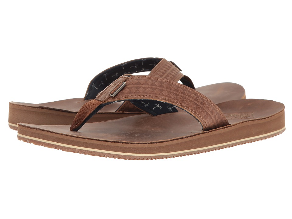 Freewaters Eddie (Brown) Men's Sandals