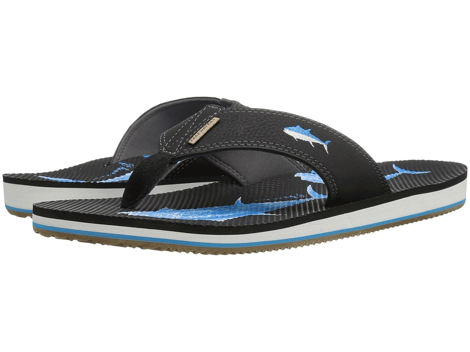 Freewaters - Jig (Blue/Fish/White) Men's Sandals
