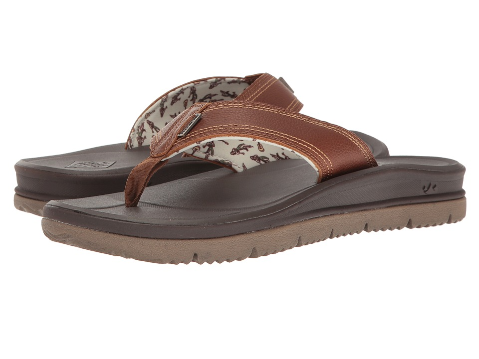 Freewaters Tall Boy XT Leather (Brown) Men's Sandals