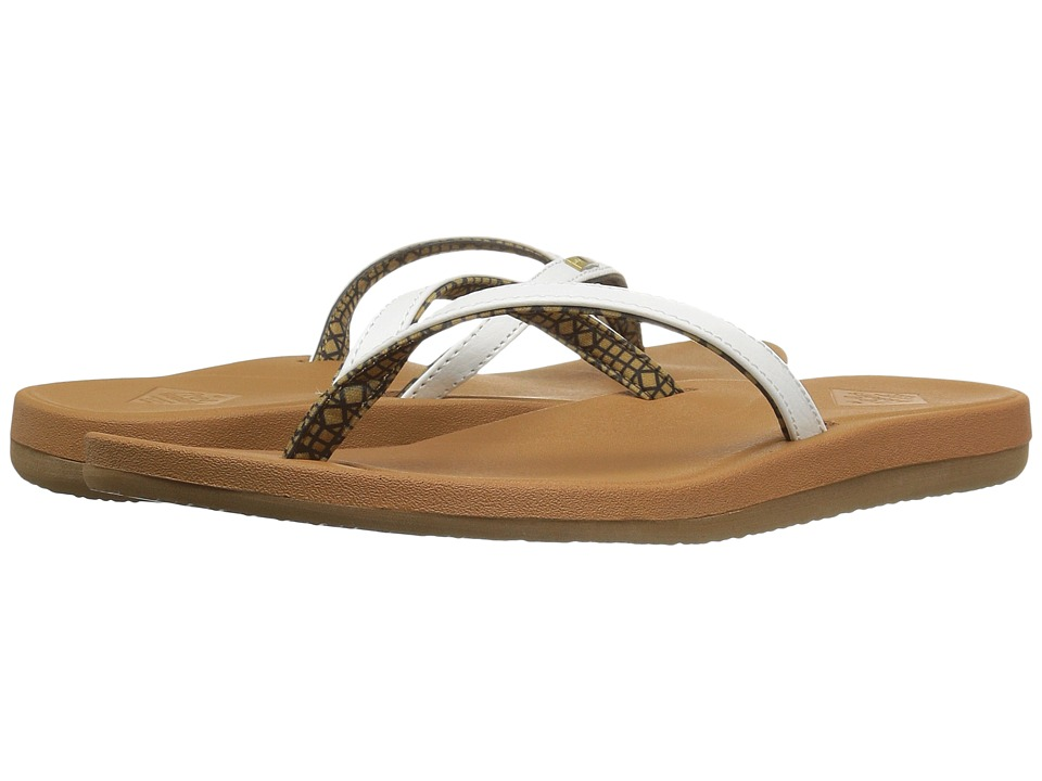 Freewaters - Lana (White/Tan) Women's Sandals