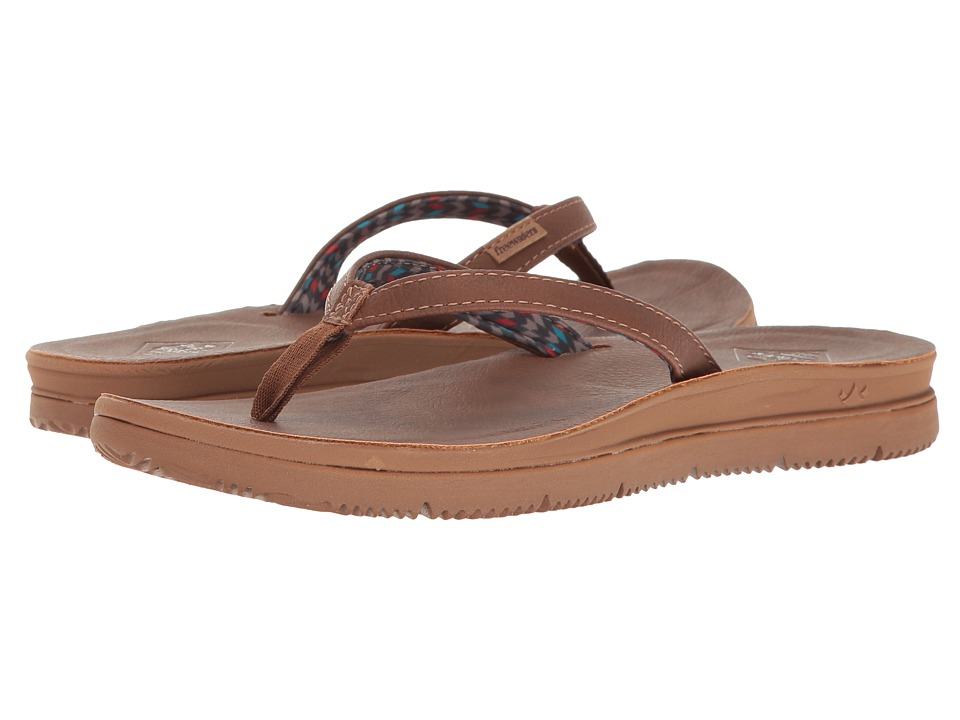 Freewaters - Tori (Brown) Women's Sandals