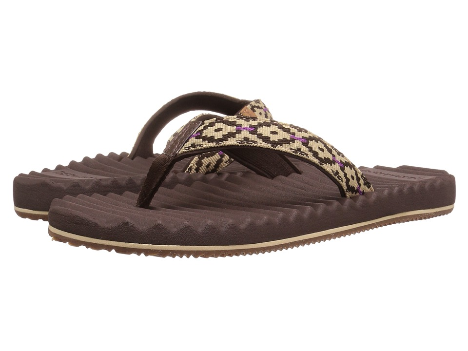 Freewaters - Alta (Brown/Olive) Women's Sandals