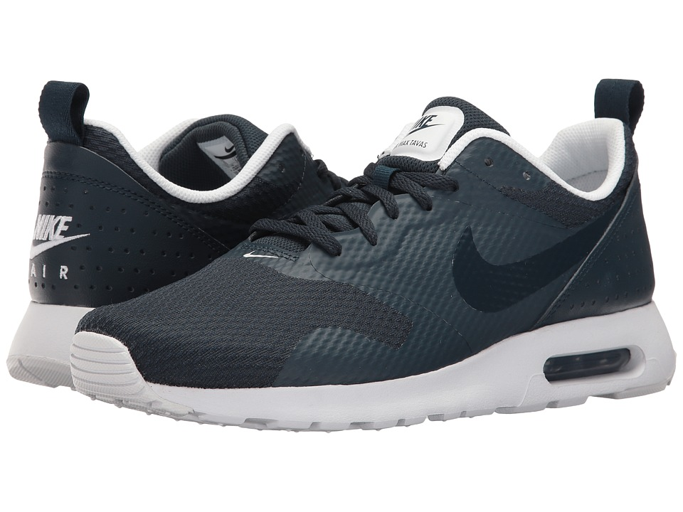 Nike - Air Max Tavas (Armory Navy/Armory Navy/White) Men's Shoes