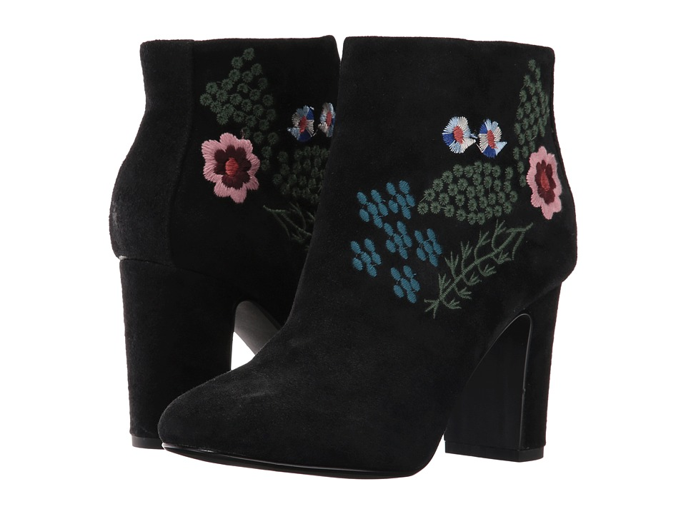 Nanette nanette lepore - Beverly N (Black Suede) Women's Boots