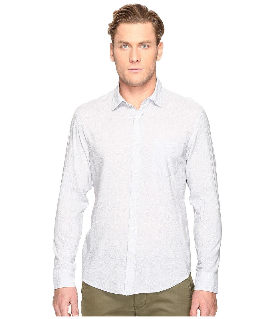 Billy Reid - Kirby Shirt (Light Blue/White) Men's Clothing
