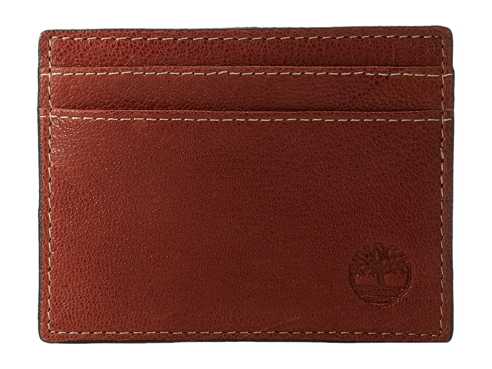 Timberland - Cavalieri Leather Card Carrier (Brown) Credit card Wallet